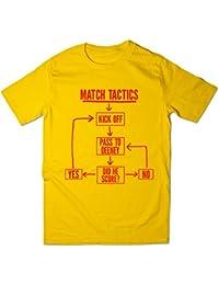Balcony Shirts 'Match Tactics - Pass to Deeney' Mens Funny Football T Shirt