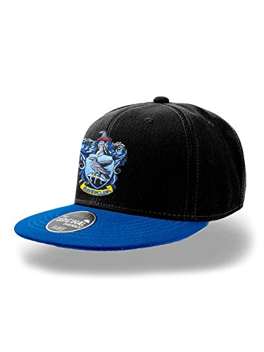 Preisvergleich Produktbild Cappello (Unisex-One Size) Ravenclaw Snapback Cap (Black)