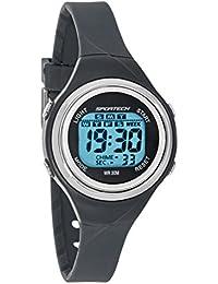 Sportech Unisex | Montre sport digitale grise pour natation | SP10715