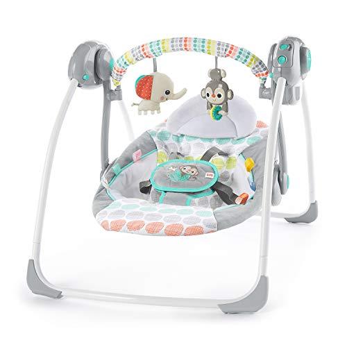 Imagen de Sillas Mecedoras Eléctrica Para Bebés Bright Starts por menos de 70 euros.