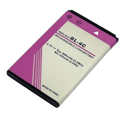 PowerSmart® Handy Akku für NOKIA 3108, 3500 Classic, 3806, 6066, 6088, 6100, 6101,6102, 6102i, 6103, 6125, 6126, 6131, 6133, 6136, 6170, 6260 fold, 6300, 6300i, 6301, 7200, 7205 Intrigue, 7270, 7705 Twist, X2-00, X2-02, X3-01