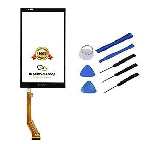HTC Desire 816 D816 Touchscreen Display Glas Digitizer Lens Scheibe Schwarz + Werkzeugset