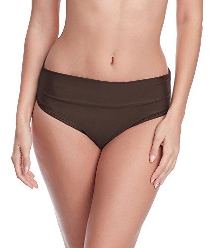 Merry Style Damen Bikini Unterteil M72W (Braun(8157), 44)