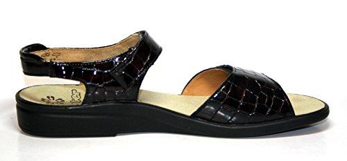 Ganter 204720 Damenschuhe Sandalen Rot (Bordo)
