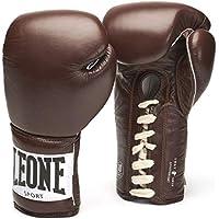 LEONE 1947 Anniversary - Guantes de Boxeo Unisex, Unisex Adulto, Color marrón, tamaño 14OZ