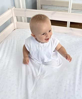 Sábana Fantasma cuna 70cm x 140cm - la sábana de seguridad original (BLANCO)