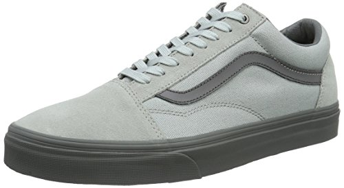 Vans Men's UA Old Skool Low-Top Sneakers, Grey (C and D High-Rise/Pewter), 9.5 UK 44 EU