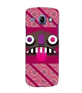 Fuson 3D Printed Designer back case cover for Samsung Galaxy Core I8262 / I8260 - D4458