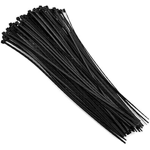Sistema-S Kabelbinder Schwarz 300 mm x 3,6 mm Cable tie 100 pcs