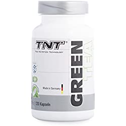 Green Tea Kapseln – Grüntee-Extrakt – Grüner Tee für mehr Fokus & Energy – Vegetarisch/120 Kapseln