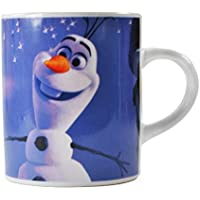 Olaf Snowman From Frozen Mini Mug Cup Black White Official Disney Boxed Gift