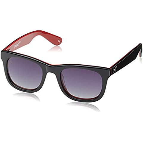 Wolfnoir, KIARA RED - Gafas De Sol unisex multicolor (negro/rojo), talla única