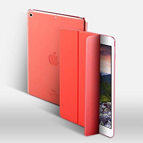 smarip (Harte Rückseite Fall für Neue iPad 9,72018Modell-Shock Proof Slim Heavy Duty stoßabsorbierenden Drei Schicht Hard PC + Silikon Hybrid Schutzhülle für iPad 24,6cm Rot Rot -