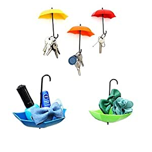 Inditradition Plastic Umbrella Shaped Wall Hook