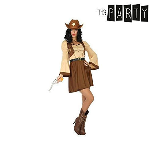 Costume per Adulti Th3 Party Cowboy donna - XL