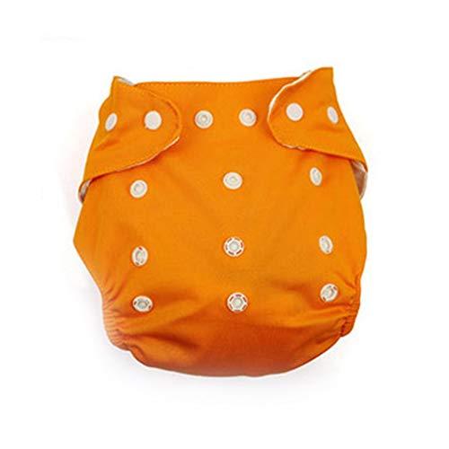 Uzinb Wiederverwendbare Waschbar Adjustable One Size Baby-Tasche Stoffwindeln Nappy (Stoffwindel One Size)