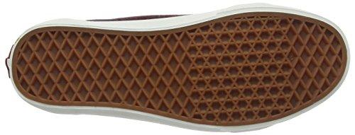 Vans Unisex-Erwachsene Old Skool Reissue Sneakers Rot (Varsity Suede red mahogany/blanc de blanc)
