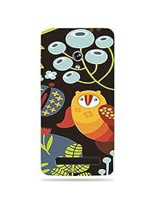 alDivo Premium Quality Printed Mobile Back Cover For Asus Zenfone 5 / Asus Zenfone 5 Printed Mobile Case (XT-037G-3D-A5-AZ5)
