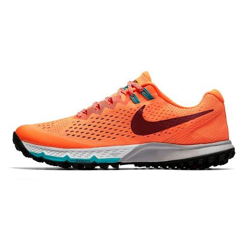 Nike air zoom terra kiger 4, scarpe running uomo, arancione (cramoisiultime/orangeéquipe/vertturbo/rougeéquipefoncé), 41 eu