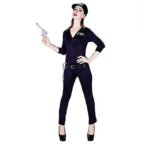 SEA HARE Erwachsene Sexy Cop Polizistin Kostüm