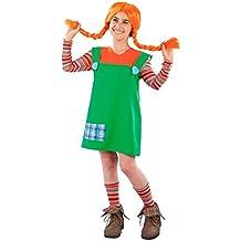 DISBACANAL Disfraz de Pipi para niña - Único, ...