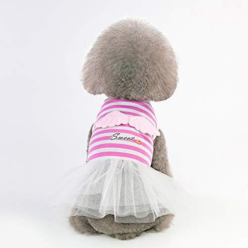 CYULING Hunderock, Tutu Röcke für Hunde Princess Dog Dress Lace Tutu Weste Rock für kleine Hunde Cat Girl,XS