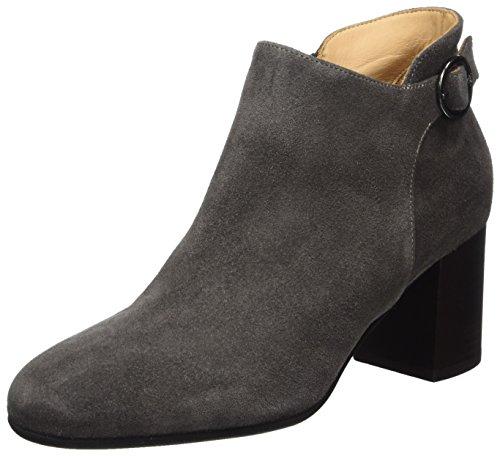 Marc O'Polo Damen High Heel Loafer 70814172301303 Stiefel, Grau (Dark Grey), 37.5 EU (4.5 UK) -
