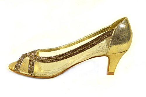 SKO'S , Mary Janes pour femme Gold (A100)