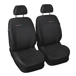 Universal Grau Polyester Sitzbezüge Front Set Sitzbezug für Auto Sitzschoner Set Schonbezüge Autositz Autositzbezüge Sitzauflagen Sitzschutz Elegance