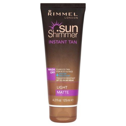 Sunshimmer - Abbronzante istantaneo Wash Off, resistente all'acqua, 125ml