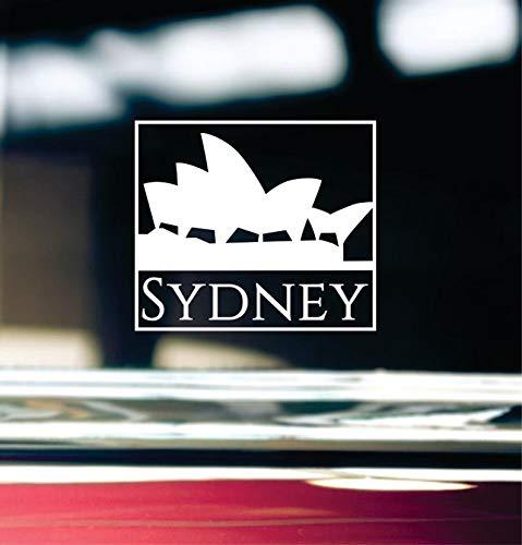 Celycasy Sydney Australia Aufkleber für Autofenster, Stoßstange oder Laptop -
