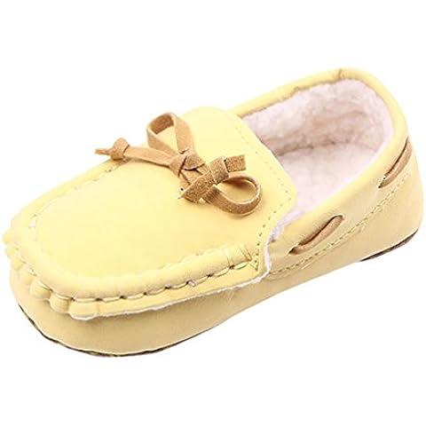 LvRao Scarpe di Cotone per Neonate Scarpine di Inverno Molli Comodi Primi per Bambini