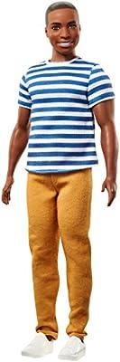 Barbie FNT86 Ken Fashionistas 18 Super Stripes Doll