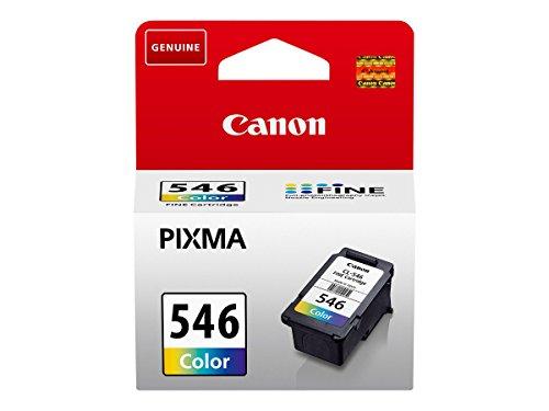 Canon CL-546 original Tintenpatrone  Mehrfarbig für Pixma Inkjet Drucker TS3150-TS3151-MX495-MG2450-MG2550-MG2550S-MG2555S-MG2950-MG3050-MG3051-MG3052-MG3053-IP2850