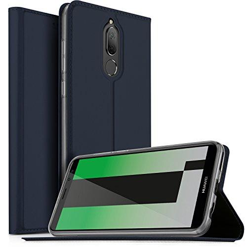 Huawei Mate 10 Lite Cover, KuGi Slim Flip Cover