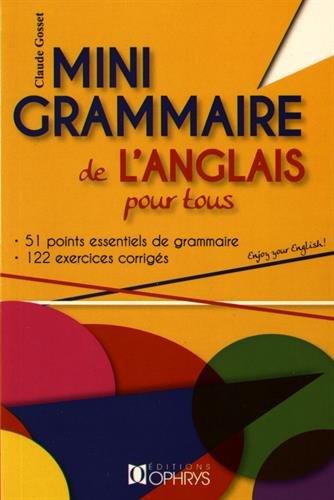 Mini Grammaire de l'Anglais