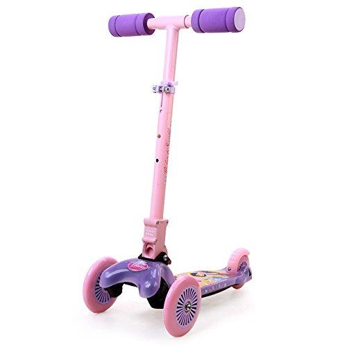 Princess Twist Scooter, Purple