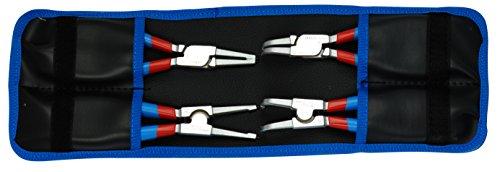 Unior 539PLUS/1DPCT Set mit Zangen für Sicherungsringe PLUS in der Tasche, 220 mm