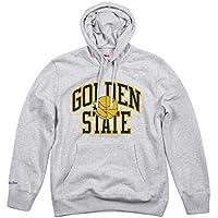 ae79645ef5e Mitchell & Ness Golden State Warriors Playoff Win NBA Hoodie Sweatshirt Grey