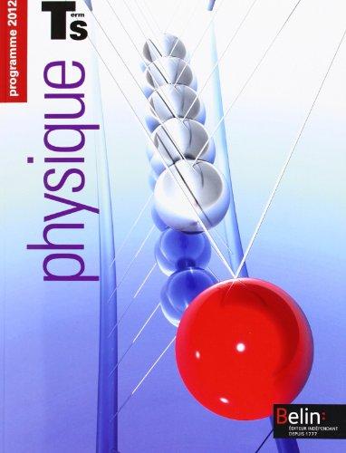 Physique Tle S : Programme 2012