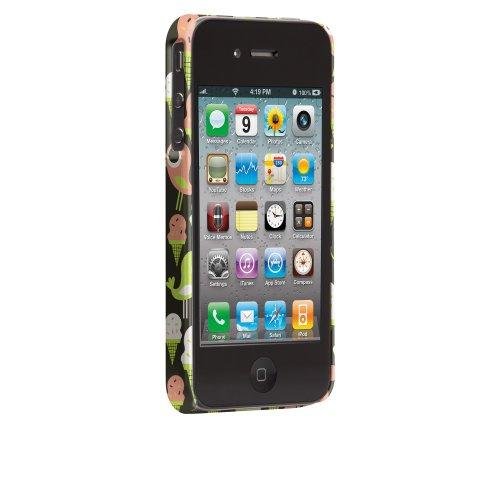 Case-Mate Tad Carpenter Designer-Schutzschale für iPhone 4/ 4S Ice Cream