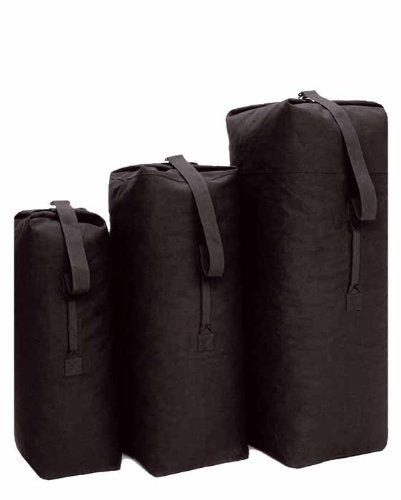 Mil-Tec Seesack Standard Baumwolle Medium schwarz