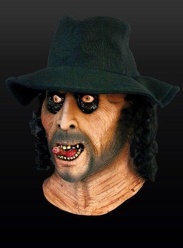 Halloween Horror Zombie Maske Undertaker Zombiemaske Untoter (Undertaker Maske)