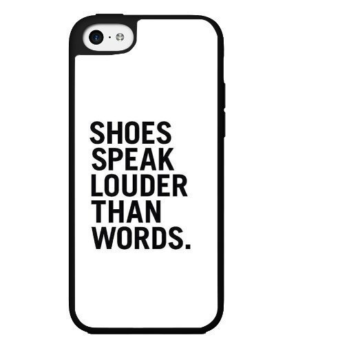 shoes-speak-louder-than-words-hard-snap-on-phone-case-iphone-5c