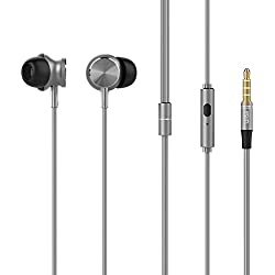 UiiSii GT500 In Ear Headphones with Microphone - Grey