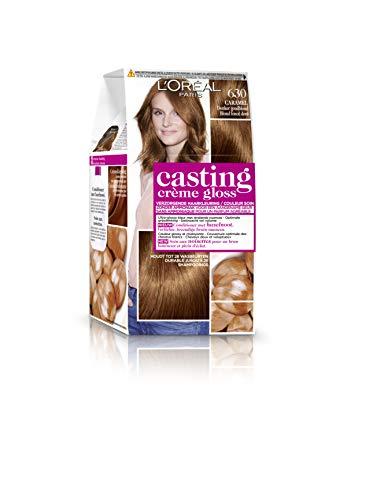 L'Oréal Paris Casting Crème Gloss 630Caramel Blond Doré Foncé–Coloration moyens