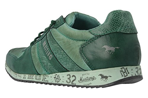 Mustang  1226-401, Sneakers Basses - Femme Vert