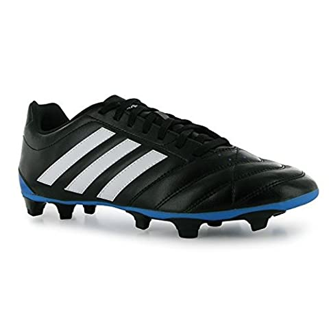 adidas Mens Goletto FG Football Boots Full Lace Up Sport Shoes Trainers Black/White UK 11 (46)