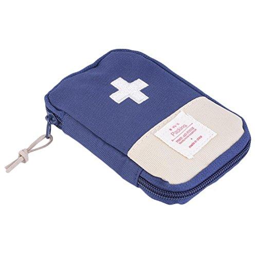 Botiquin de primeros auxilios bolsa - portátil píldora medicina organizador al aire libre primeros auxilios emergencia médica supervivencia kit bolsa de viaje
