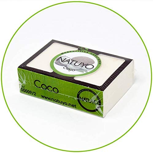Mascarilla jabón NATUYO hidratante COCO lucir piel